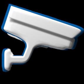 Überwachungskamera - Schemabild Überwachung Kommunikation